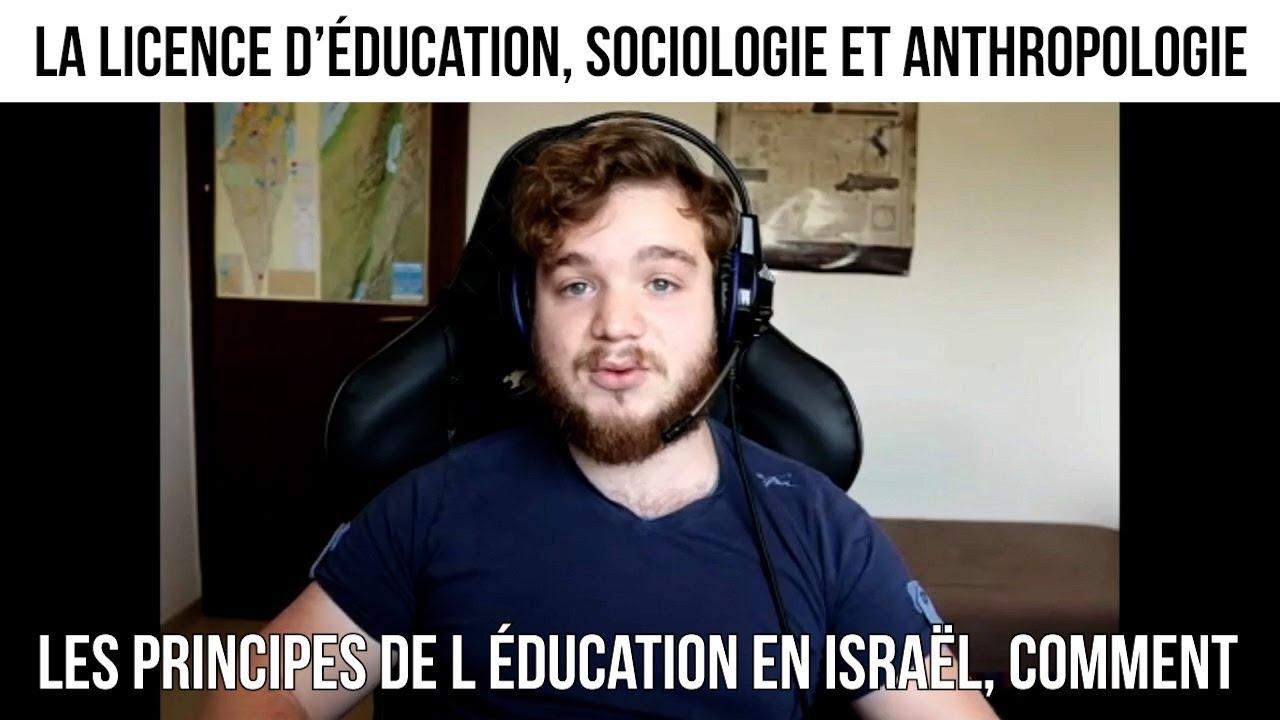 La licence d'éducation, sociologie et anthropologie - CNEF#45