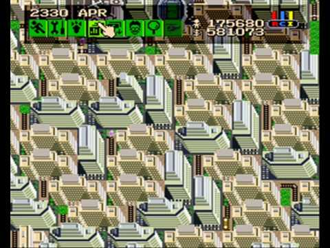 sim city snes practice 175 680 citizens youtube rh youtube com SimCity SNES Codes Sonic 4 SNES