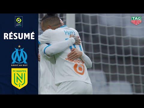 OLYMPIQUE DE MARSEILLE - FC NANTES (3 - 1) - Résumé - (OM - FCN) / 2020-2021