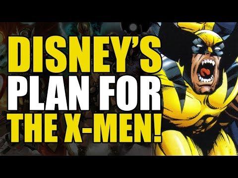 Disney's Plan For The X-Men!