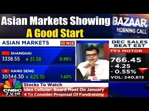 Asian Markets Showing a Good Start   Bazaar Morning Call: 2nd Jan, 2017   CNBC-TV18