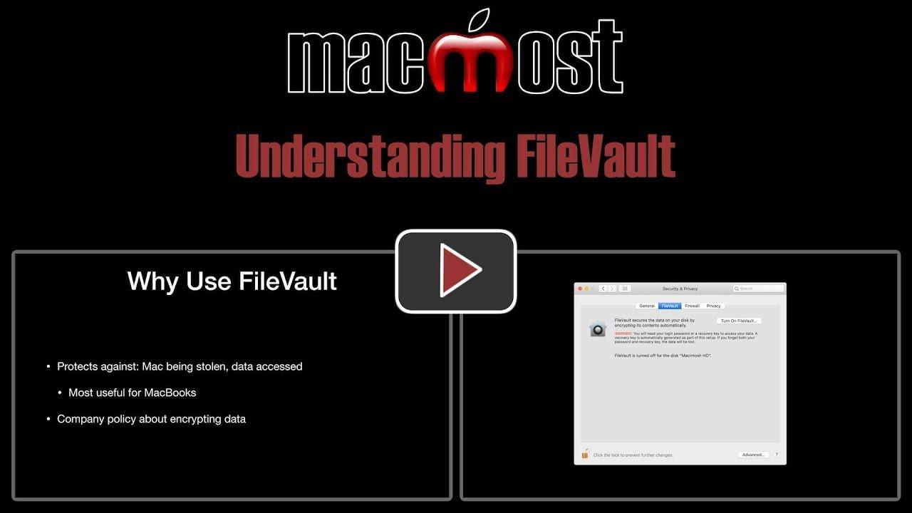 Understanding FileVault