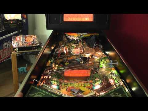 Pinball Paradise Flipper Automaten Congo Williams