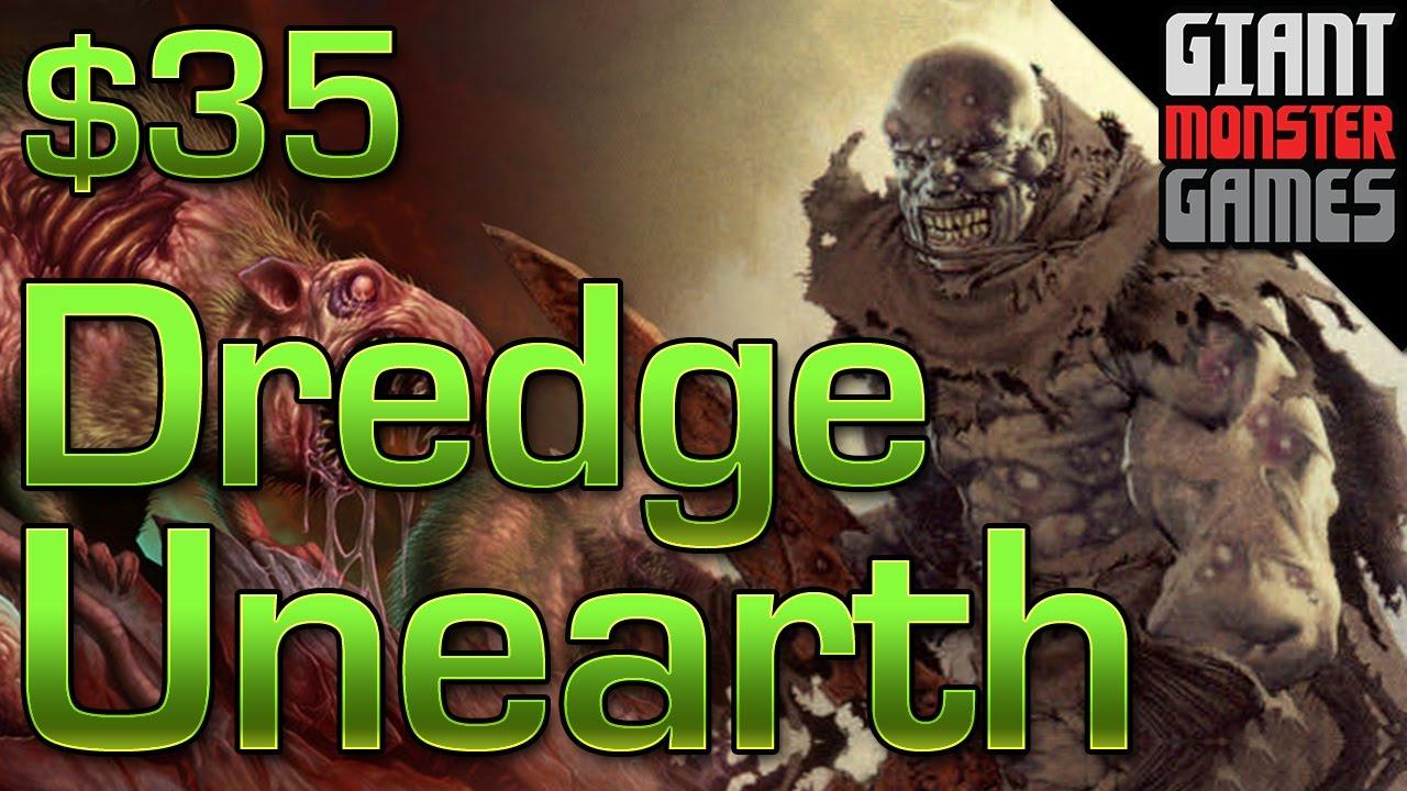 Budget Mtg Deck Tech - Modern Dredge Unearth ($35)
