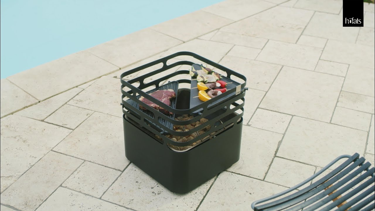 Feuerkorb Mit Grill Cube By Fire Basket Grill Stool