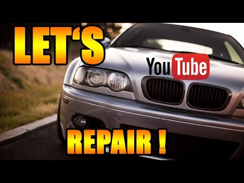 Let's Repair BMW - Bremse vorne selber wechseln - BMW E46 3er