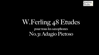 〈 Etude No.31 〉from W.Ferling 48 ETUDES – Play Along