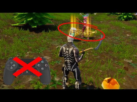 SCAMMERS CONTROLLER  DIES AFTER HE DROPS ALL HIS ITEMS IN FORTNITE BATTLE ROYALE