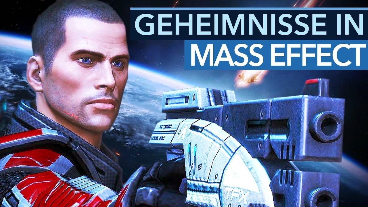 21 kuriose und tolle Details aus MASS EFFECT – Von virtuellen Aliens bis zu irren Running-Gags