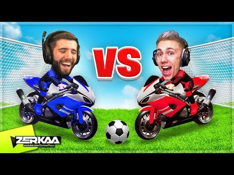 BEST New 2D Rocket League Game with Simon! (Ball Out)