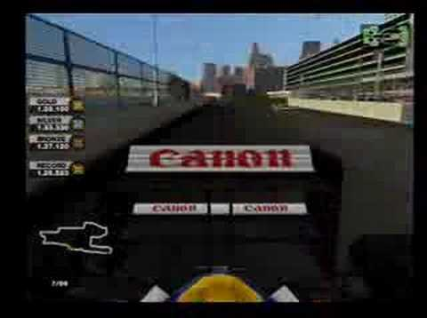 formula one 2005 ps2 Detroit