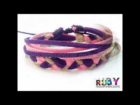 Vòng tay handmade cá tính và độc đáo [ RuBy Friendship Bracelets ]