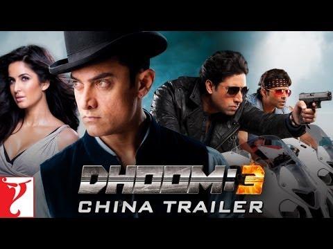 DHOOM:3 - CHINA Trailer (with Mandarin Subtitles)
