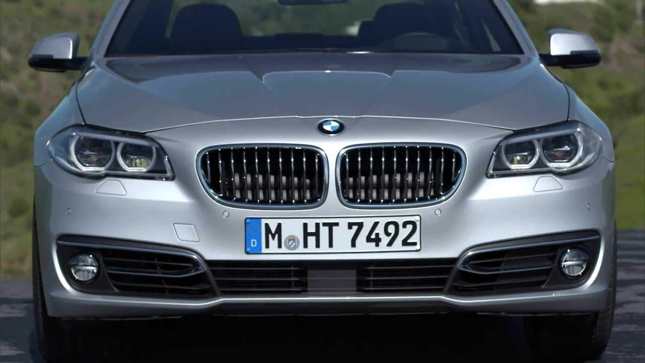 2014 BMW 5 Series Sedan LCI Facelift  Exterior  YouTube