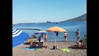 spiaggia di Barbarossa a Porto Azzurro Isola d'Elba