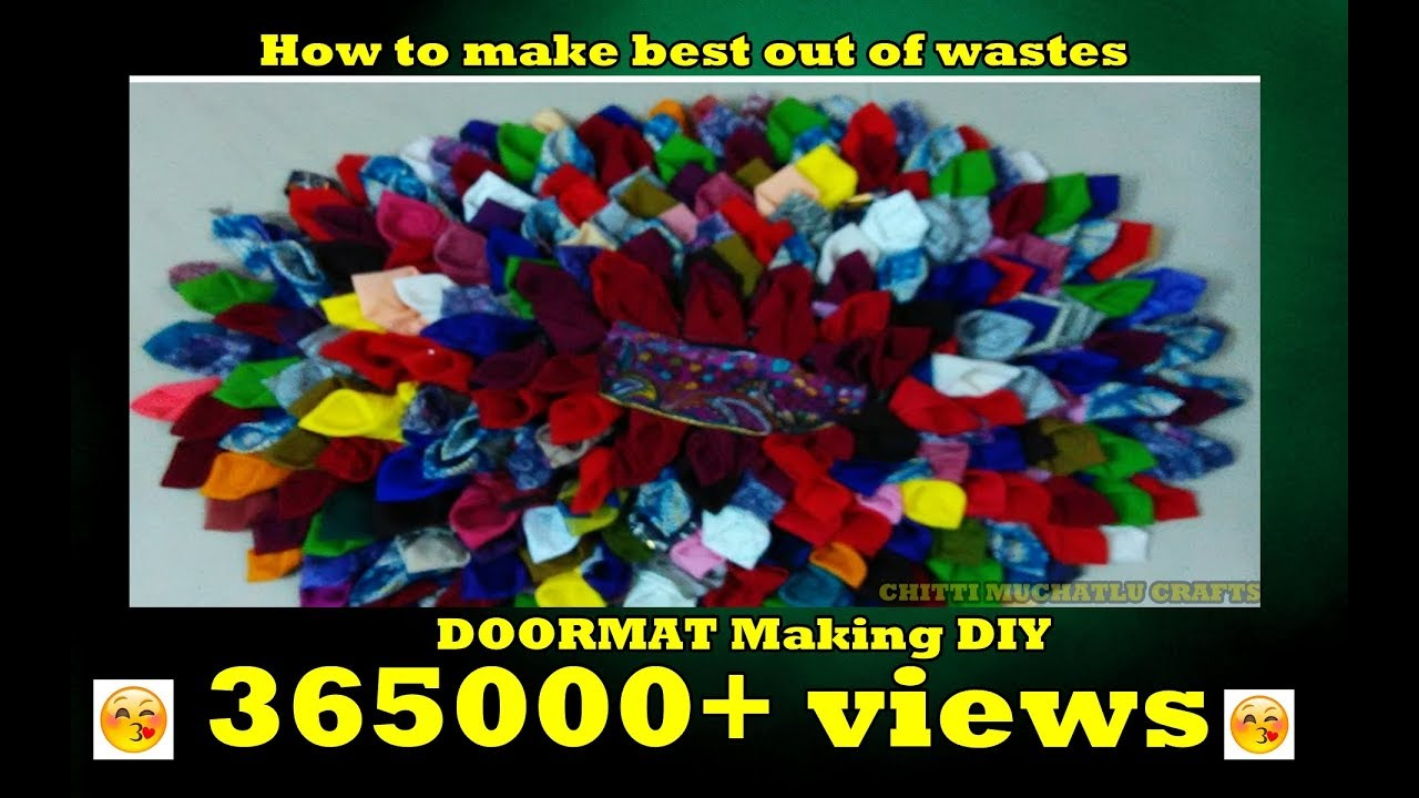 How To Make Best Out Of Waste Clothes Youtube