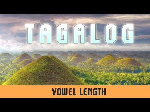 Tagalog Vowels | Vowel Length | Significant And Non-Significant Length | Length Shift