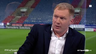 Paul Scholes explains his secret Manchester United comeback on FA Cup Tonight
