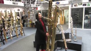 MISSY plays Pink Panther on the Contrabass Sax
