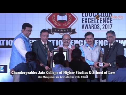 National Education Excellence Awards. 2017 -CJ College of Higher Studies & School of Law
