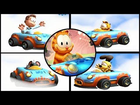 Garfield Kart: Furious Racing - All Characters