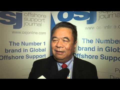 KK Hlaing SMART speaking at the 2014 Asian Offshore Support Journal Conference 2014