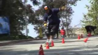 Rebirth of Slalom Skateboarding - WLAC 2003