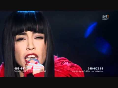 Loreen My heart is refusing me Melodifestivalen 2011