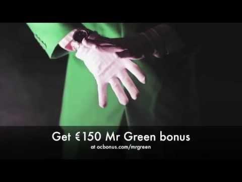 Mr Green Bonus Code - 150€ And 10 Free Spins
