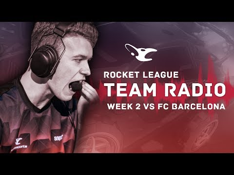 Team Radio: mouz vs FC Barcelona (RLCS Week 2) - Reverse Sweep