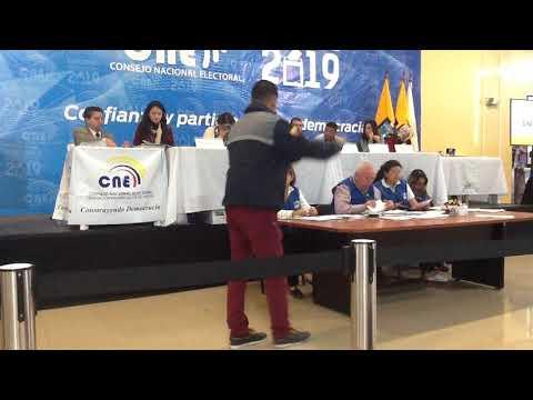 PROCLAMACIÓN CNE  CANTON QUITO