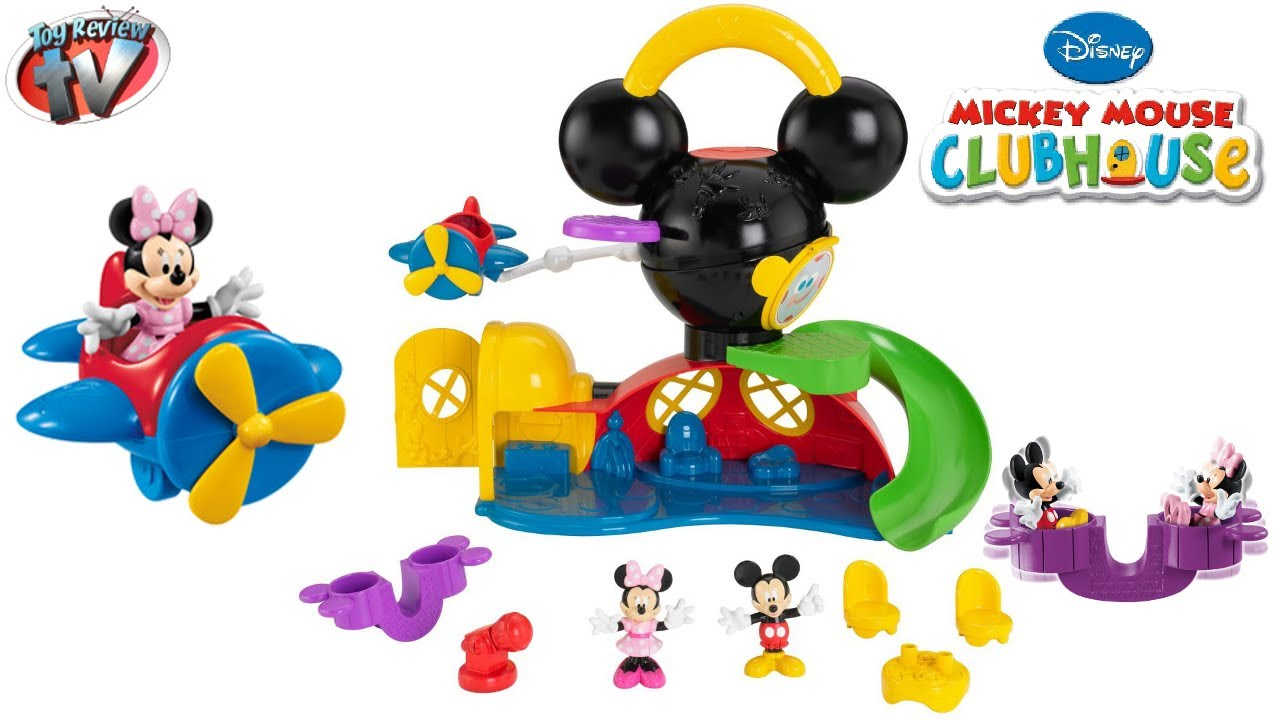 MICKEY MOUSE CLUBHOUSE TOYS Fly n Slide Playset Fisher ...