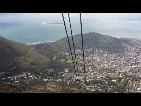 Cable Car View of Cape Town - HD