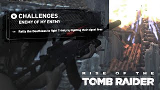 Rise of the Tomb Raider · Enemy of My Enemy Challenge Walkthrough Video Guide