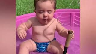 baby awesome, baby, awesome, cute baby, cute video, funny video, funny fails baby, baby family, AFV,