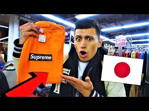 9f658f32fbe4 THRIFT SHOPPING IN JAPAN! SUPREME LOUIS VUITTON AND MORE! (HYPEBEAST ...