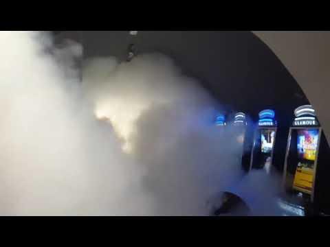UR Fog Fog Cannon Installed In A Gambling Machines Area