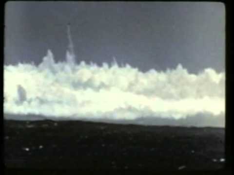 Underwater atom bomb testing - Operation Wigwam (1955) (Only explosions)