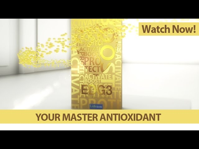 QNET Products | EDG3: Your Master Antioxidant [QNET]