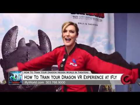 How to Train Your Dragon at iFly Indoor Skydiving - February 22, 2019