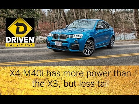 2017 BMW X4 M40i Car Review