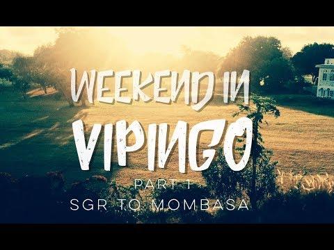 WEEKEND IN VIPINGO, Part 1: SGR to Mombasa || Patricia Kihoro