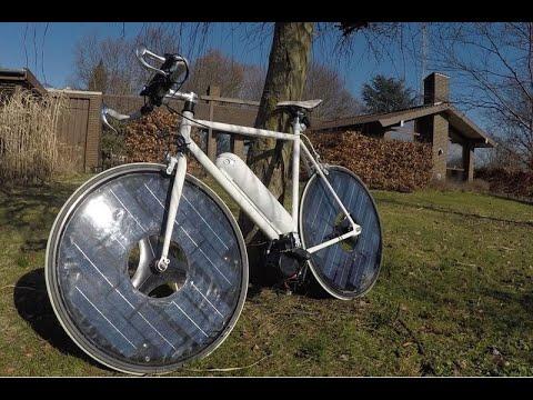 La bicicleta que funciona con energía solar ya es una realidad