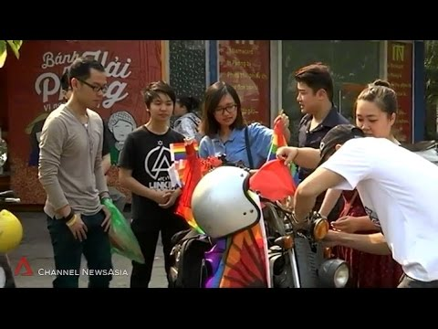 CNA: LGBT equality gaining ground in Vietnam