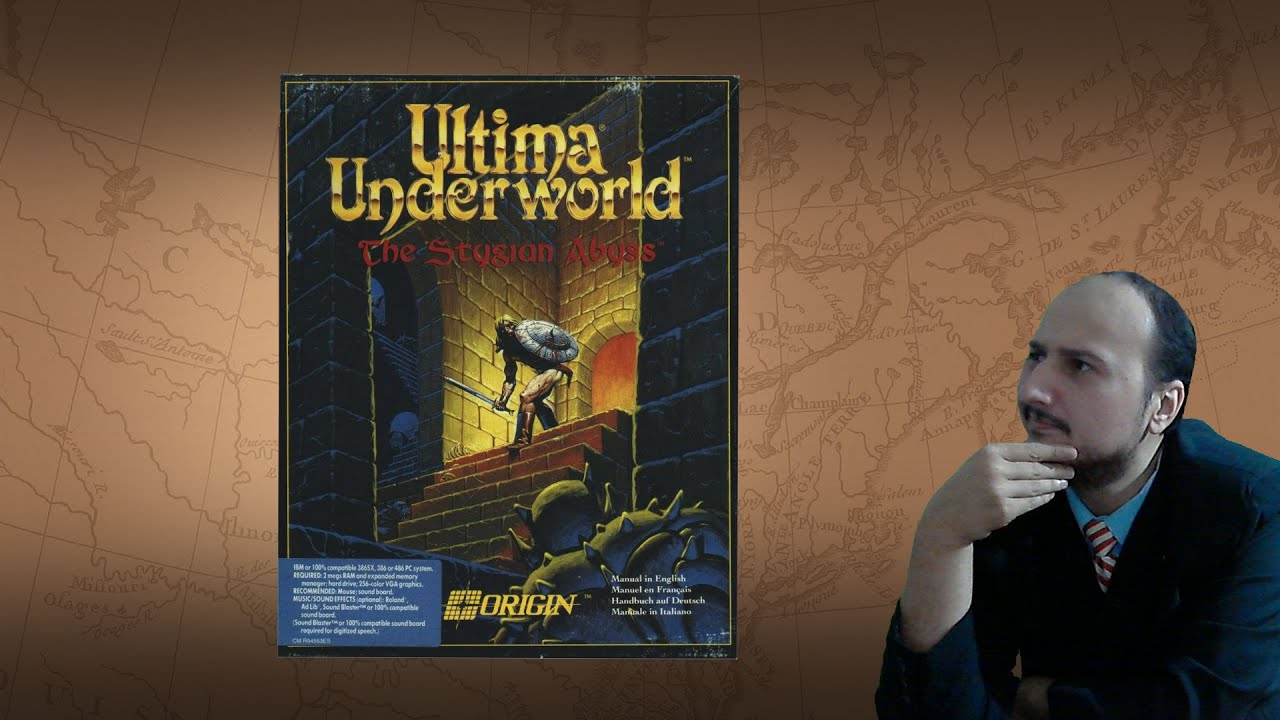 """Gaming History Ultima Underworld """"The most important game you should play"""""""