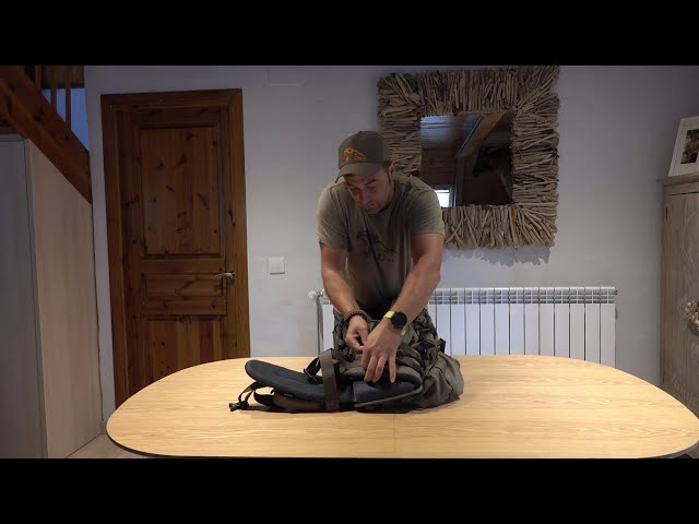 1- características Mochila ibex pro 55lt onca gear