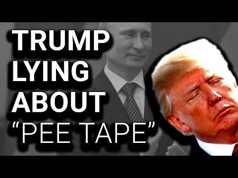 "UH-OH: Trump Tells First ""Pee Tape"" Lie"