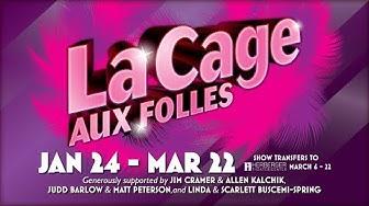 ARIZONA BROADWAY THEATRE PRESENTS La Cage aux Folles (Peoria & Phoenix, AZ) Jan 24 - March 22, 2020