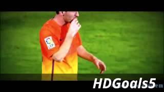 أفضل المهارات والأهداف   ليونيل ميسي ضد كريستيانو رونالدو   2013