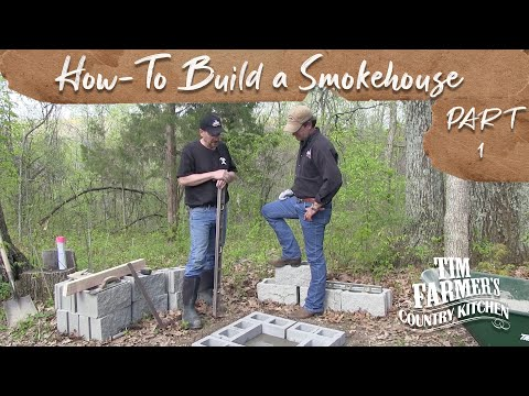 How-To Build a Smokehouse (Part 1 - Foundation)